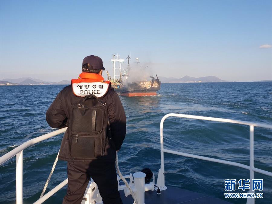 (國際)(4)韓國漁船起火釀死傷 一名中國公民失蹤
