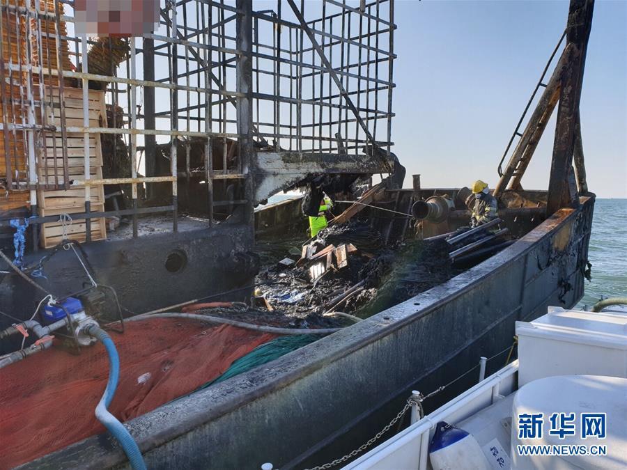 (國際)(2)韓國漁船起火釀死傷 一名中國公民失蹤