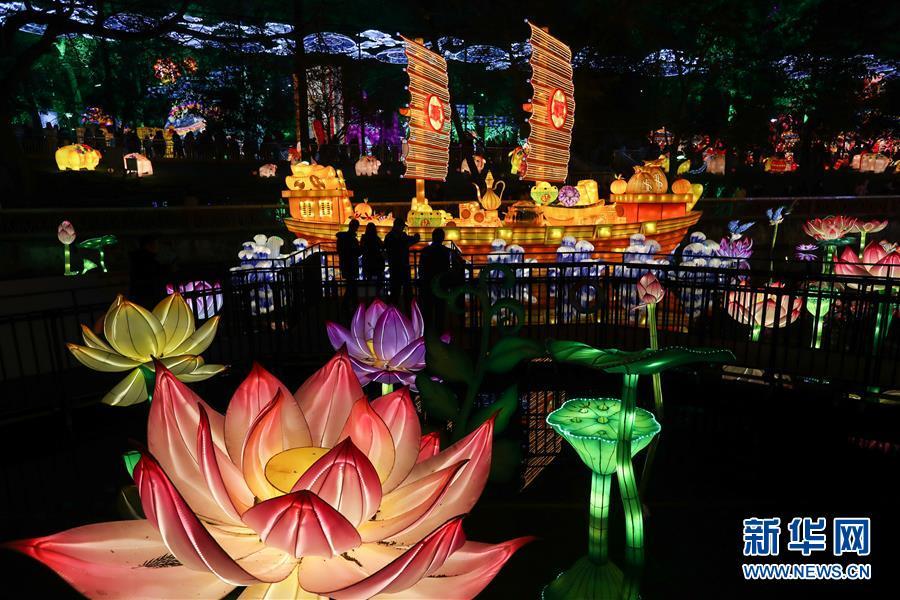 (社會)(3)四川自貢國際恐龍燈會亮燈