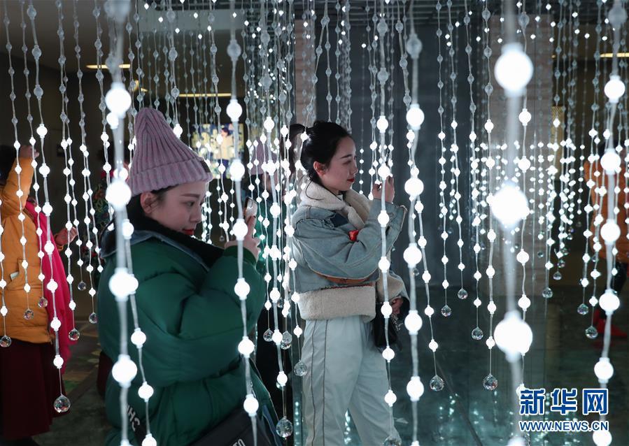 (社會)(6)四川自貢國際恐龍燈會亮燈