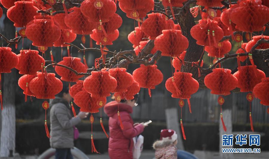 (社會)(1)北京:年味漸濃