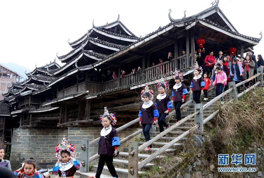 #(社會)(1)廣西三江:侗族特色婚俗鬧新春
