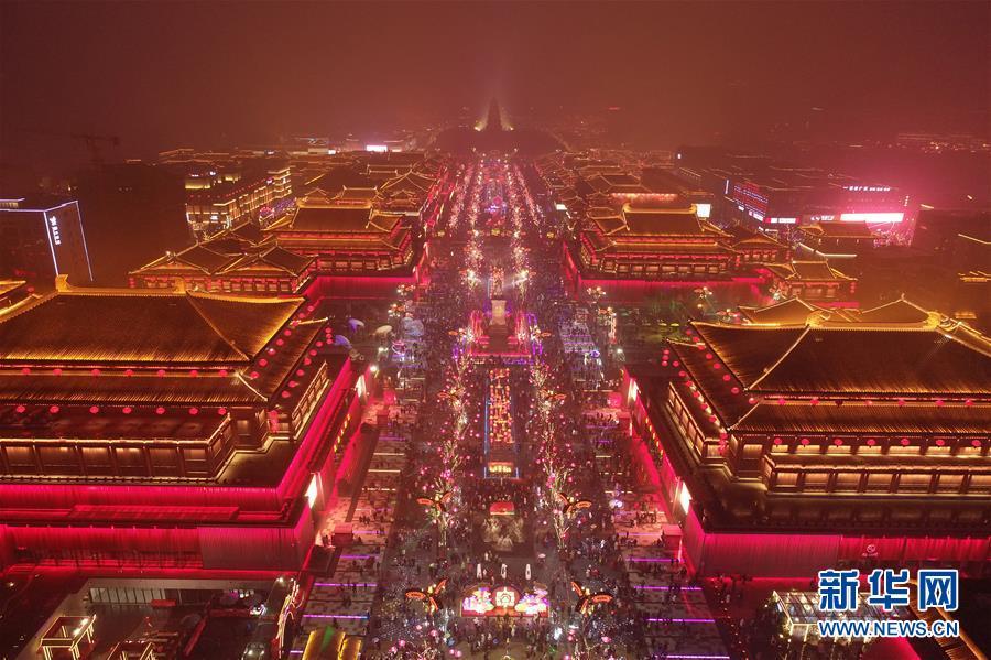 (社會)(4)西安節後旅遊市場持續繁榮