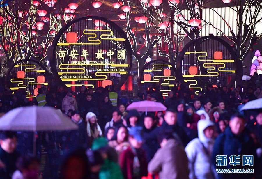(社會)(2)西安節後旅遊市場持續繁榮