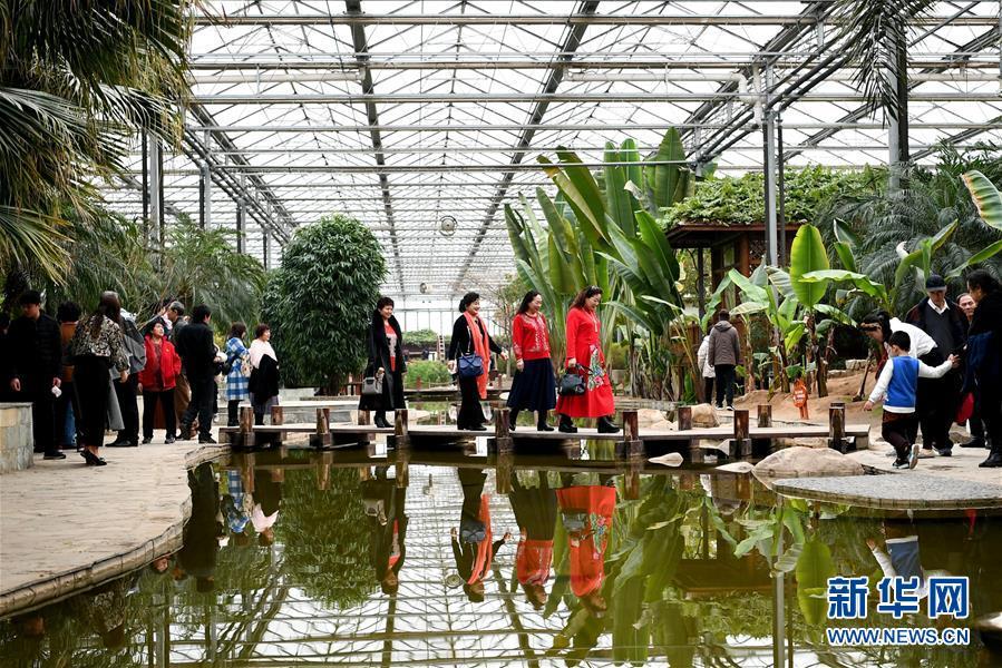 (社會)(1)河北廊坊:休閒觀光産業引客來