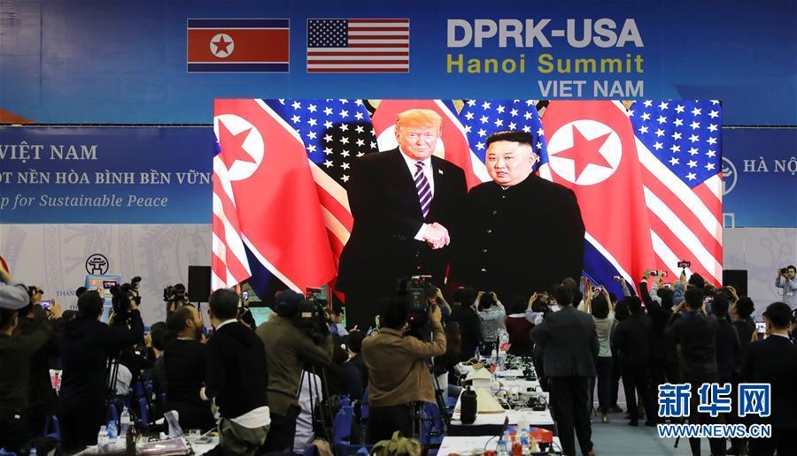(國際)(1)朝美領導人開始河內會晤