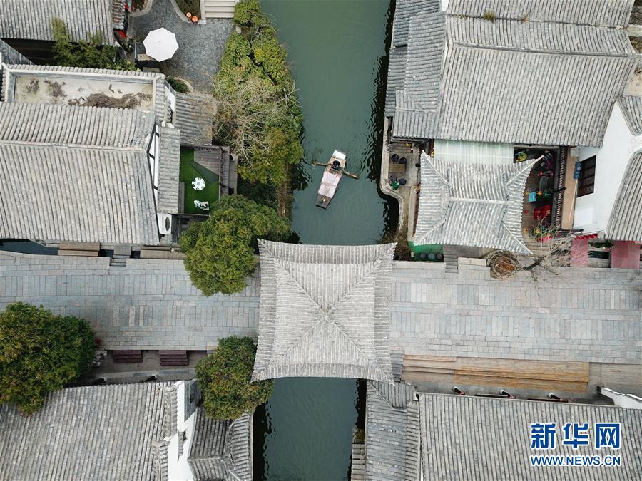 (環境)(3)山東臺兒莊:古城水鄉顯春意