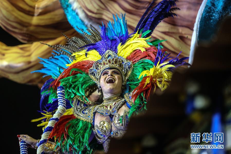 (國際)(1)巴西聖保羅狂歡節正式開幕