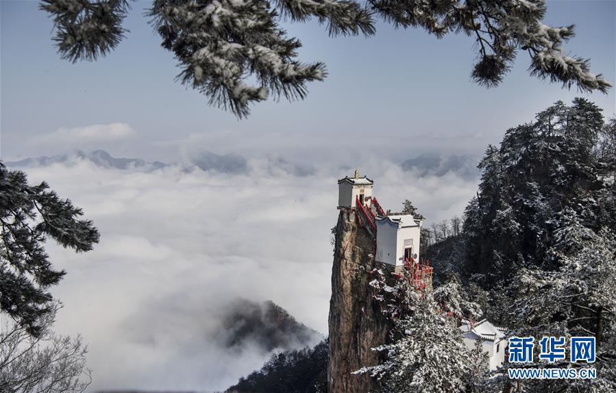 (美麗中國)(2)雪霽塔雲仙境
