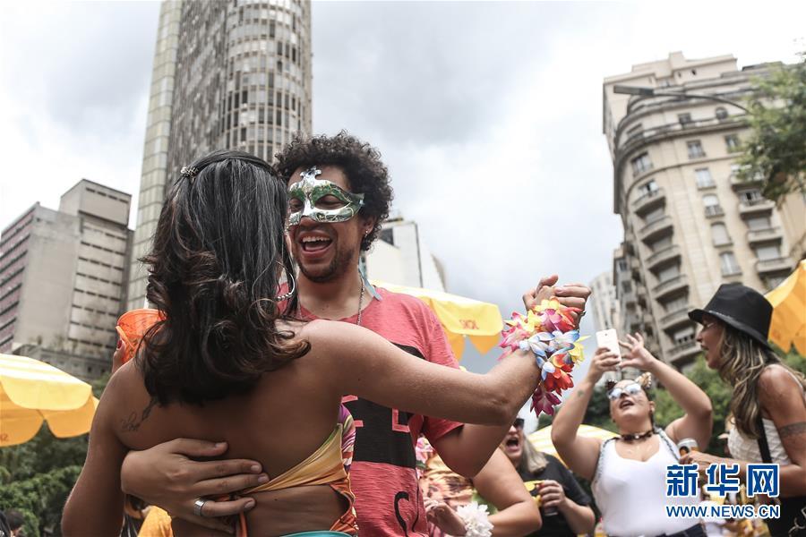 (XHDW)(1)巴西聖保羅的街頭狂歡