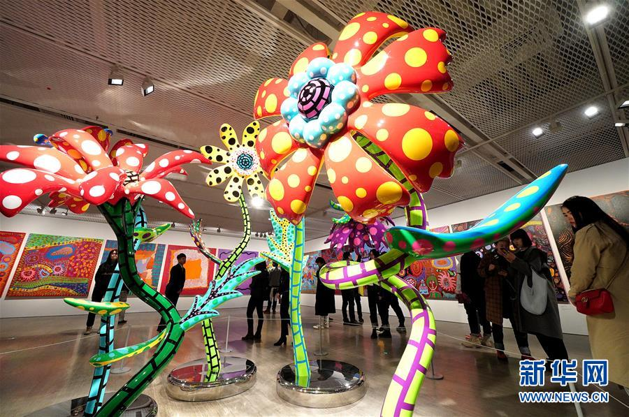 (XHDW)(2)上海舉辦日本藝術家草間彌生大展