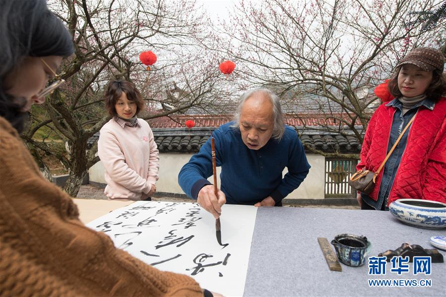 """(社會)(1)七旬退休教師的""""梅""""緣"""