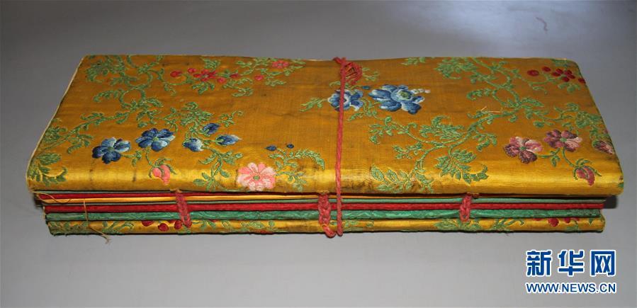 (圖文互動)(2)西藏羅布林卡已普查鑒定國家一級文物古籍57函