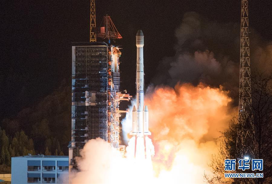 """(圖文互動)(1)我國成功發射""""中星6C""""衛星"""