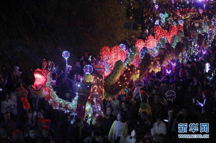 #(社會)(1)湖南衡陽:民俗火燈祈豐年