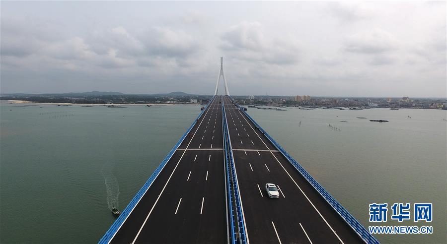 (社會)(1)海南海文大橋建成通車