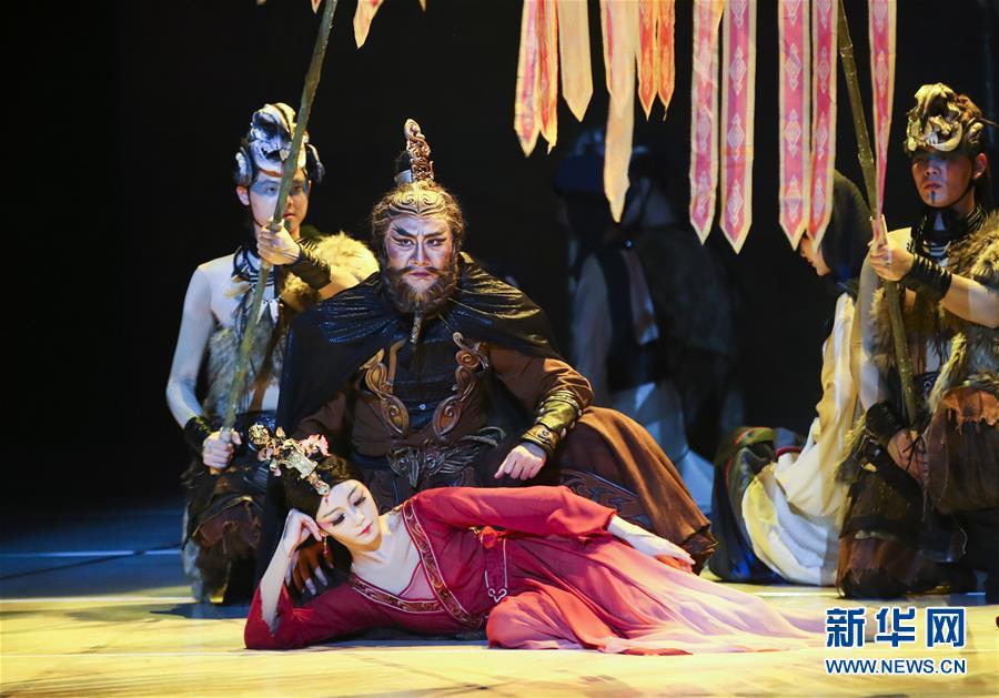 (國際)(1)舞劇《昭君出塞》在紐約上演