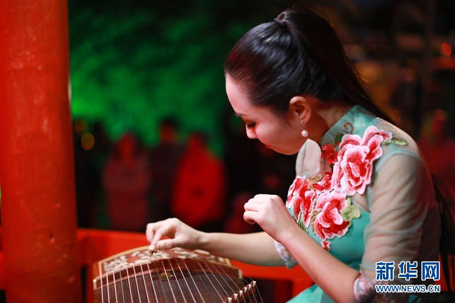 (國際)(1)新西蘭黑斯廷斯市舉辦中國燈節