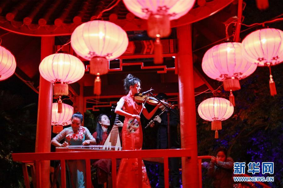 (國際)(2)新西蘭黑斯廷斯市舉辦中國燈節