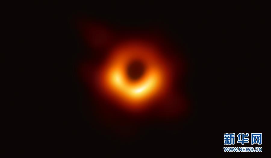 """(科技)人類首次""""看見""""黑洞"""