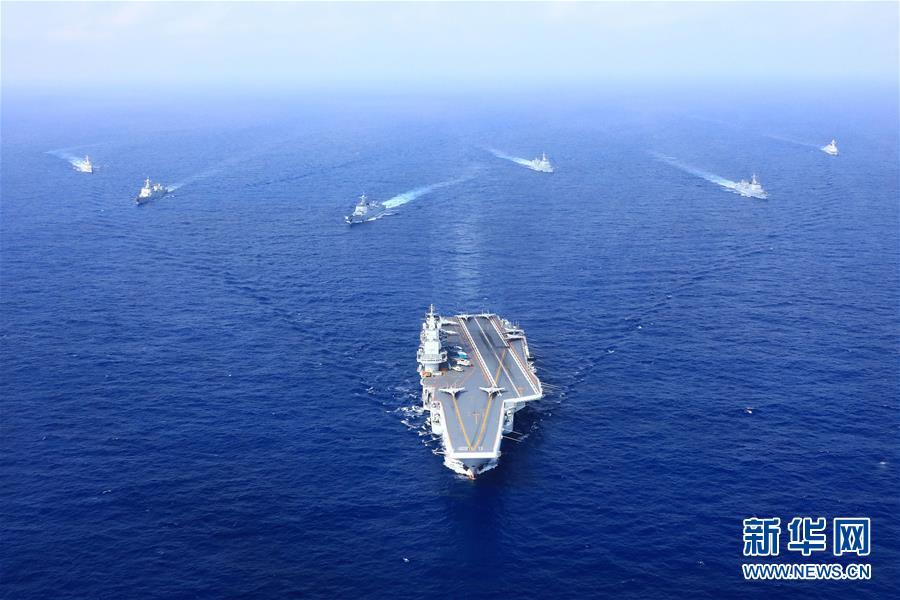 (人民海軍70年·新華全媒頭條·圖文互動)(6)向著深藍出發——獻給人民海軍成立70周年