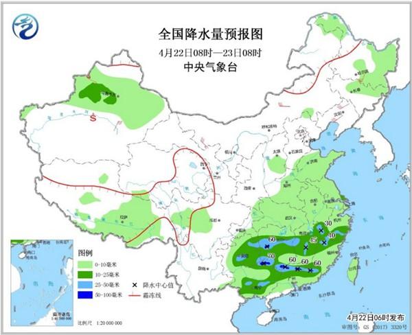 南方降水重心移至江南 西北再上30℃