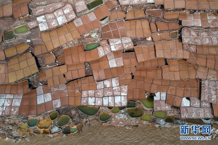(社會)(1)西藏芒康:瀾滄江畔的千年古鹽田
