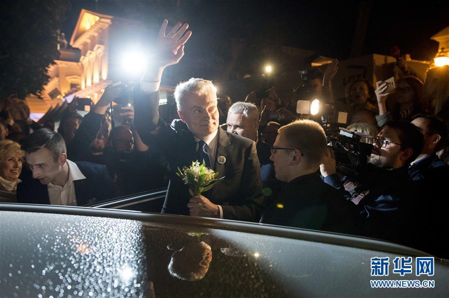 (國際)(1)初步結果顯示瑙塞達贏得立陶宛總統選舉