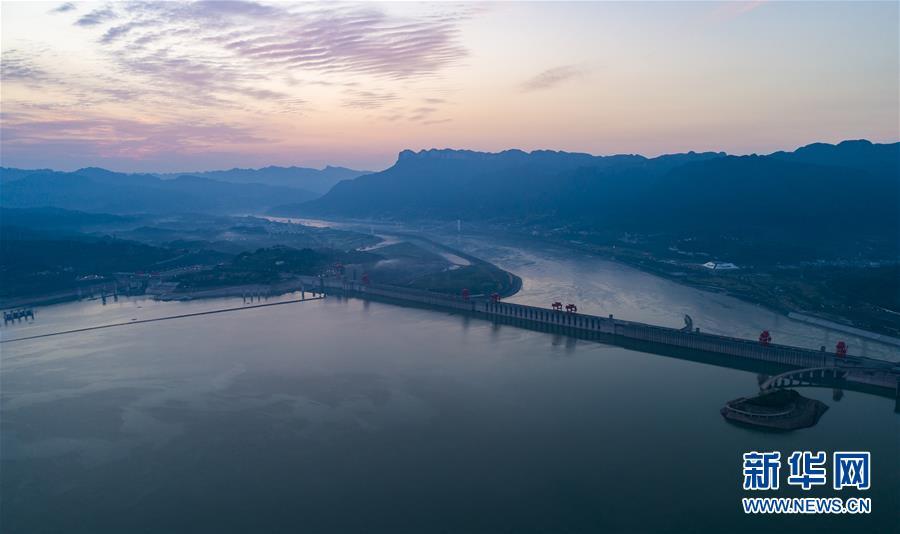 #(環境)(1)三峽水庫防汛騰庫進入最後階段