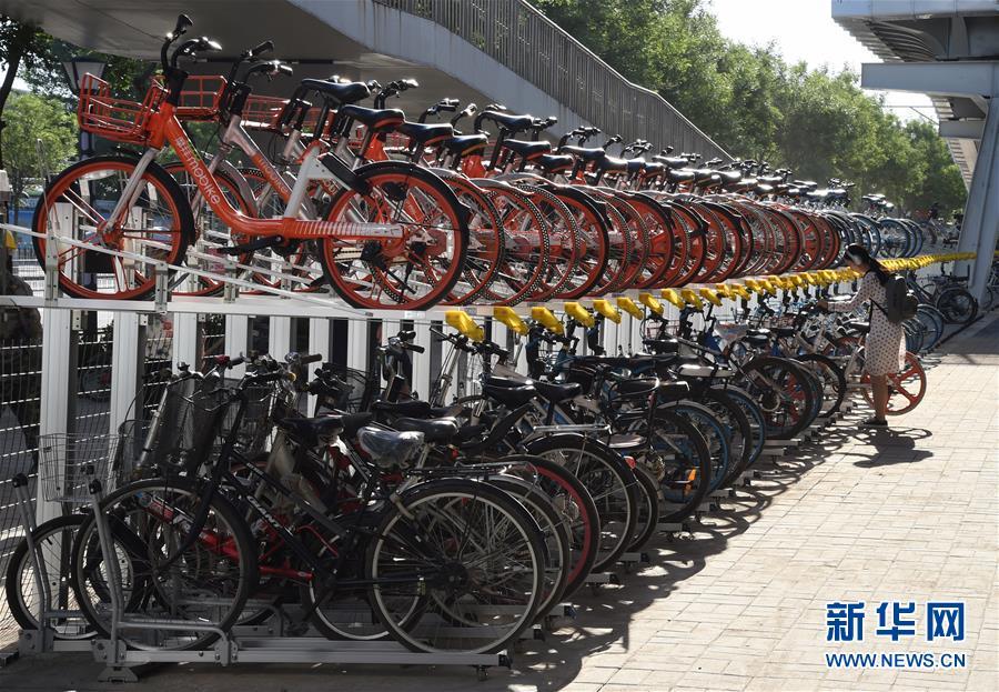 (社會)(2)北京首條自行車專用路開通