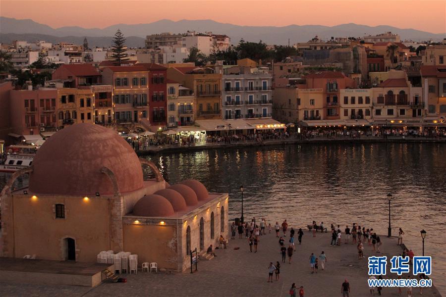 (國際)(2)希臘克裏特島幹尼亞風光