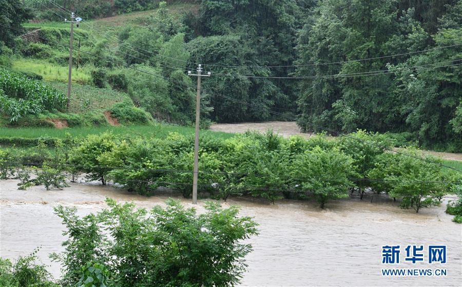 (圖文互動)(2)強降雨導致多地出現內澇 江西、貴州啟動防汛Ⅳ級應急響應