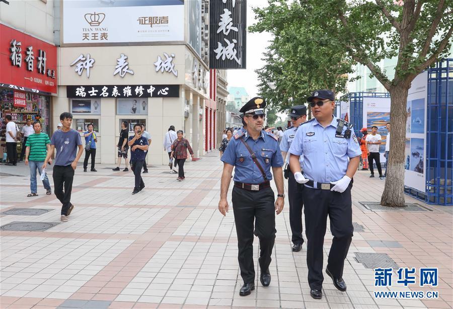 (圖文互動)(1)中意警方啟動第三次在華警務聯合巡邏