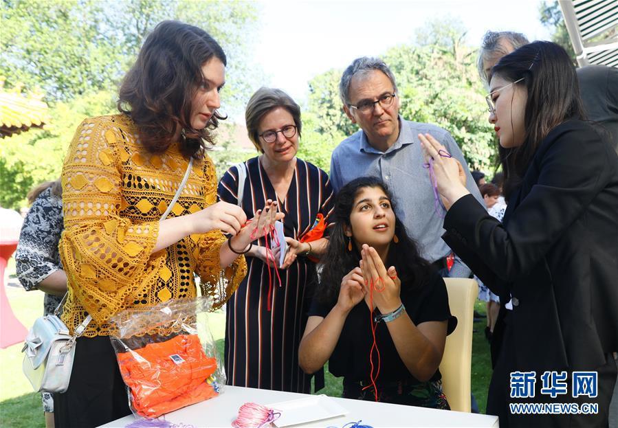 (XHDW)(3)中國駐比利時使館舉辦開放日活動