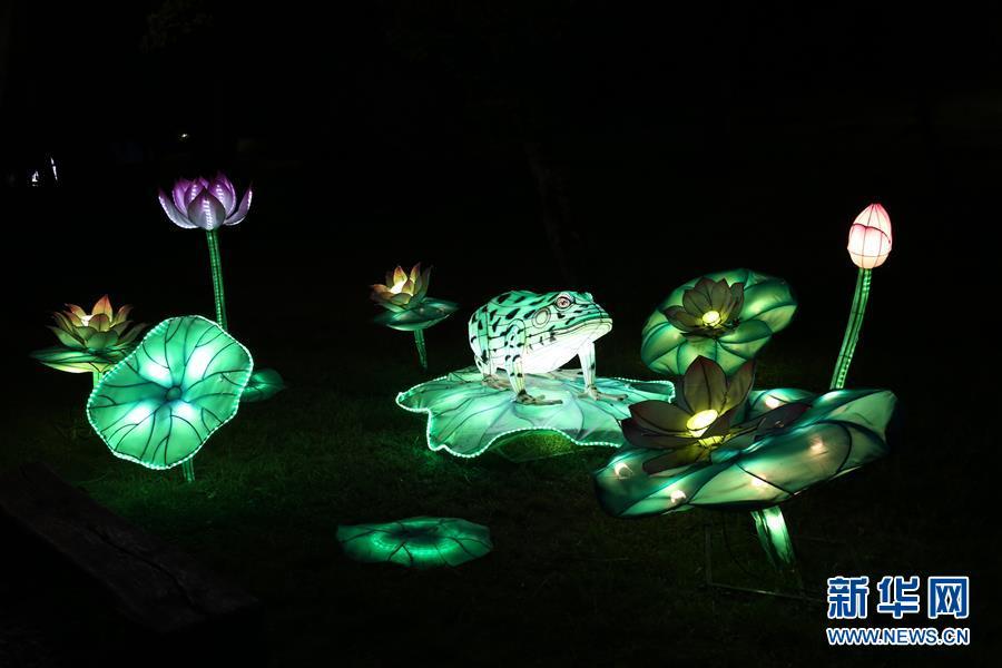 (國際)(3)自貢彩燈閃耀羅馬尼亞錫比烏國際戲劇節