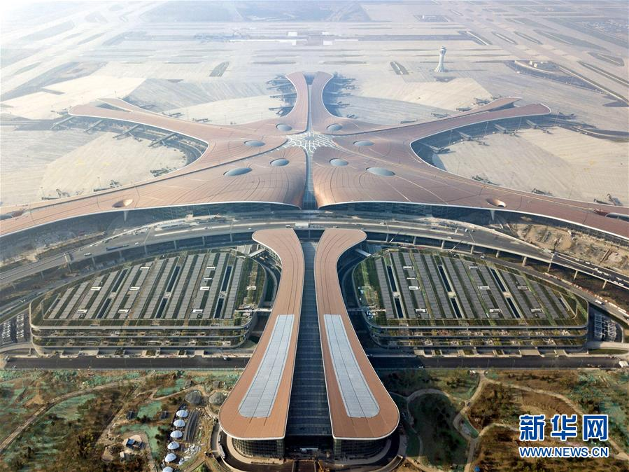 (圖文互動)(2)鳳凰展翅 北京新機場如期竣工