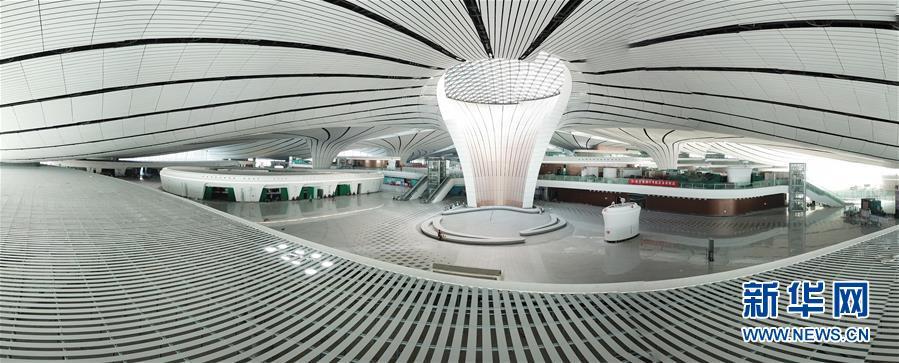 (圖文互動)(4)鳳凰展翅 北京新機場如期竣工