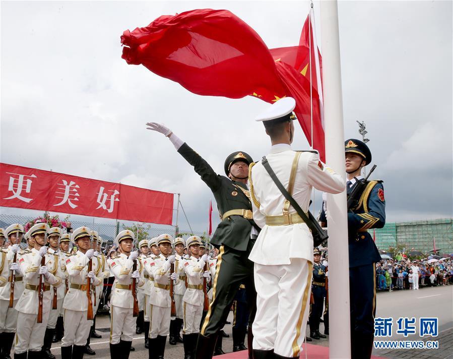 (圖文互動)(1)特寫:親身感受祖國的強盛——香港青年學生參訪駐港部隊海軍基地見聞