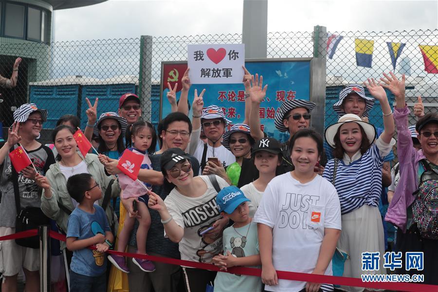 (圖文互動)(4)特寫:親身感受祖國的強盛——香港青年學生參訪駐港部隊海軍基地見聞