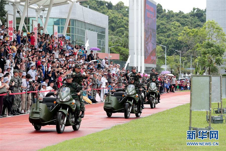 (圖文互動)(5)特寫:親身感受祖國的強盛——香港青年學生參訪駐港部隊海軍基地見聞