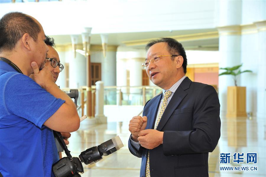 (XHDW·圖文互動)綜述:文萊中資企業對文經濟多元化前景保持樂觀