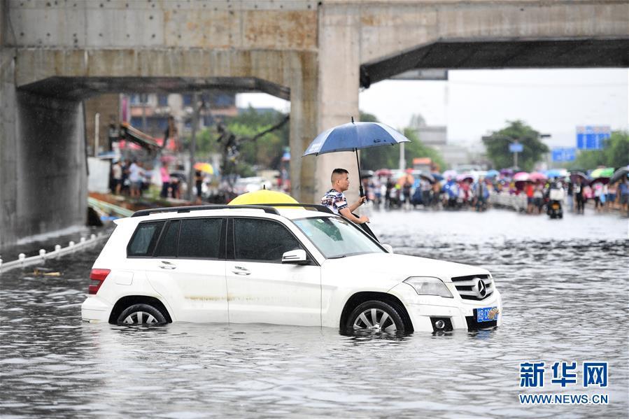 #(環境)(1)廣西柳州遭遇暴雨襲擊