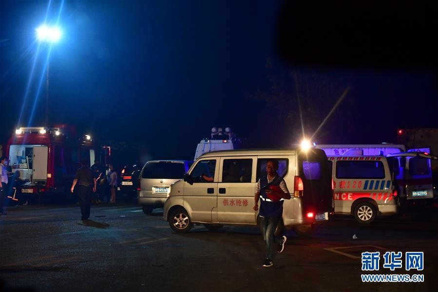(突發事件後續)(1)河南義馬氣化廠爆炸事故已致10人死亡5人失聯