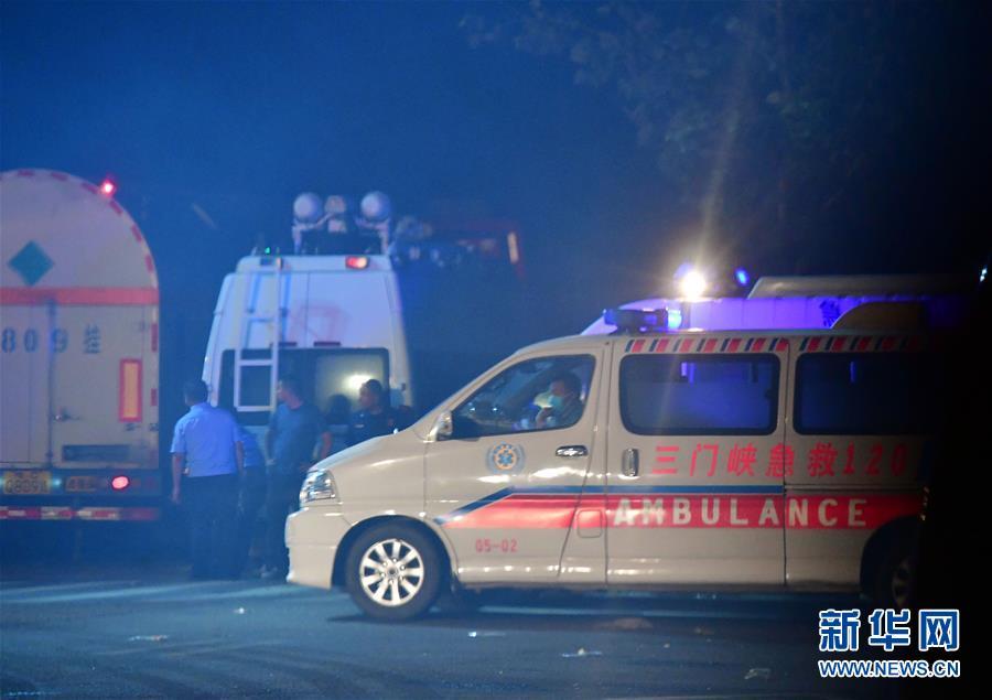 (突發事件後續)(2)河南義馬氣化廠爆炸事故現場搜救工作基本結束