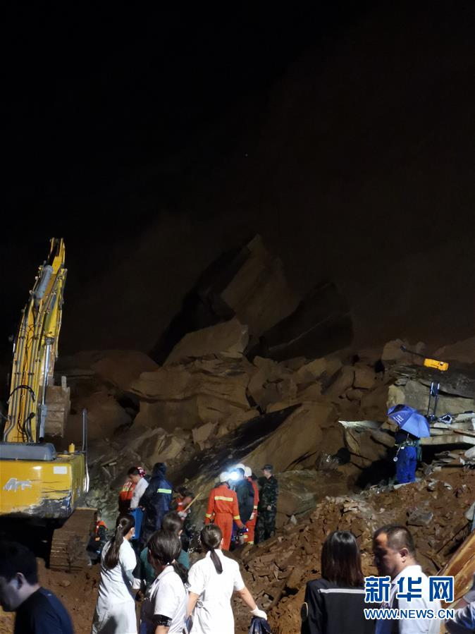 (突發事件)陜西省子洲縣發生山體滑坡事故 疑有5人被困