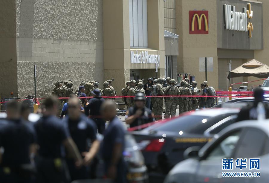 (國際)(1)美國得克薩斯州槍擊案致20人死亡