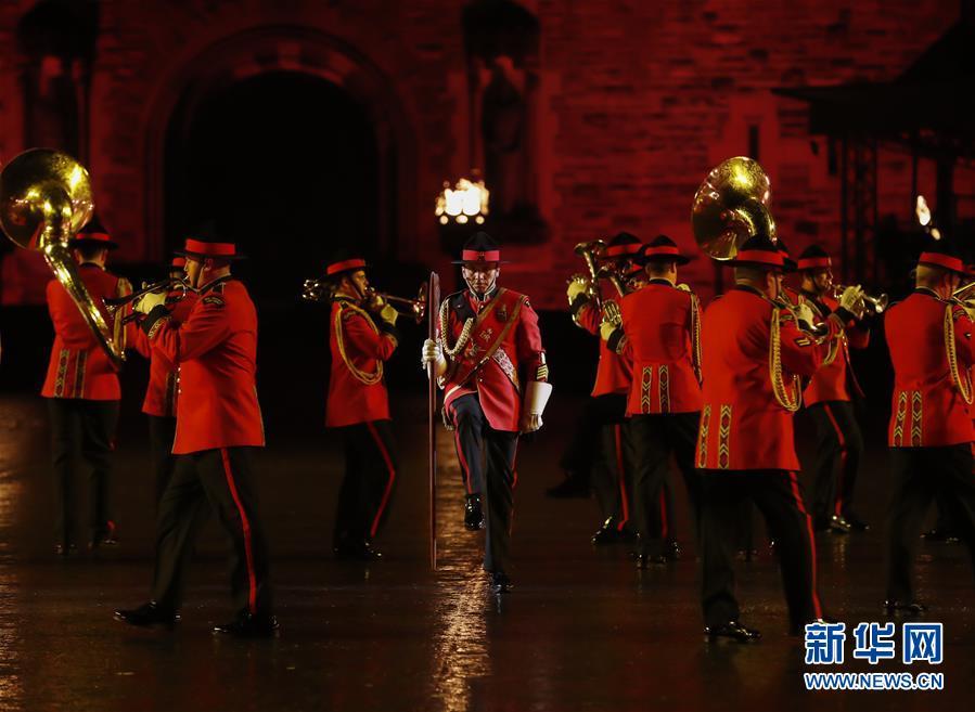 (國際)(1)古堡前的愛丁堡國際軍樂節