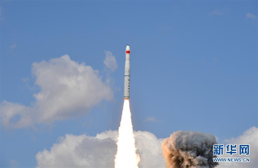 """(圖文互動)(2)我國成功發射""""珠海一號""""03組衛星"""