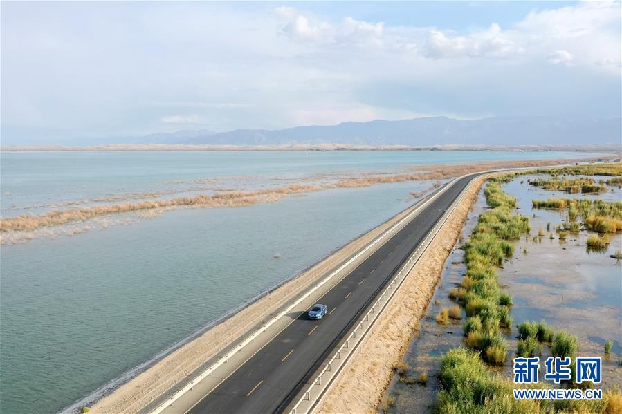 (美麗中國)(4)新疆博斯騰湖畔秋景惹人醉