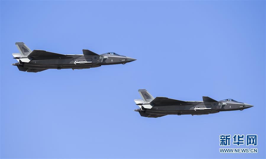 (軍事)(1)殲-20、運-20首次在東北地區進行飛行展示